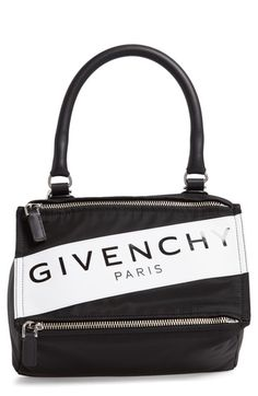 Givenchy Small Pandora Logo Shoulder Bag