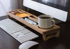 The Wooden Desk Organizer