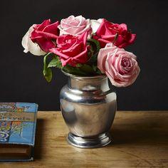 Vaso per fiori, cm h 17 - collezione: Terlizzi. Cosi Tabellini.