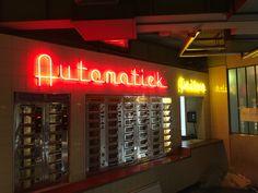 Custom neon sign for THE railroad museum Utrecht