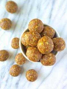 5 Ingredient No-Bake Fig Newton Bites #paleo #vegan #glutenfree