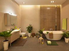 """""""Phòng tắm xanh"""" đang trở thành xu hướng mới trong thiết kế nội thất"""