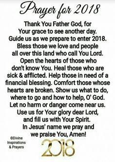 A prayer for a New Yeat