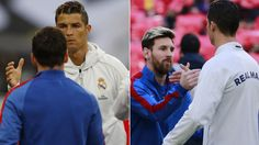 Messi y Cristiano Ronaldo se miman   Marca.com http://www.marca.com/futbol/2017/06/09/5939d427e5fdea68218b459f.html