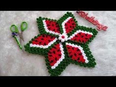 YENİ TASARIM YILDIZ KARPUZ LİF (Sevilay UYSAL tasarimi) - YouTube Ladoo Gopal, Crochet Videos, Doilies, Elsa, Diy And Crafts, Knit Crochet, Crochet Earrings, Crochet Patterns, Lily