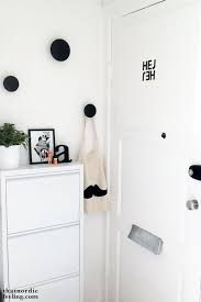 Hallway via that nordic feeling Living Room Interior, Home Living Room, Hallway Inspiration, Muuto, Modernisme, My Ideal Home, Entry Hallway, House Entrance, Scandinavian Home