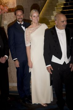 MyRoyals: Nobel Peace Prize Laureates Banquet, Grand Hotel, Oslo, Norway, December 10, 2015-Crown Prince Haakon and Crown Princess Mette-Marit