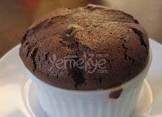 Nefis çikolatalı sufle tarifi.