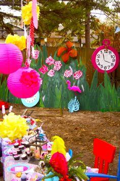 """Alice in Wonderland"" birthday"