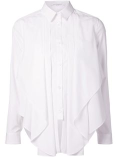 Shop Viktor & Rolf asymmetrical frill shirt in Laboratoria from the world's best independent boutiques at farfetch.com. Over 1000 designers from 300 boutiques in one website.