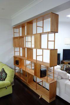 Custom made timber Bookshelves, Sydney | Nathaniel Grey