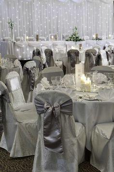 Wedding reception Lighting is Key for romantic atmosphere .