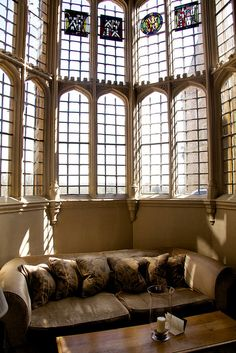 Window setting, Fawsley Hall by Burgundy Images, via Flickr