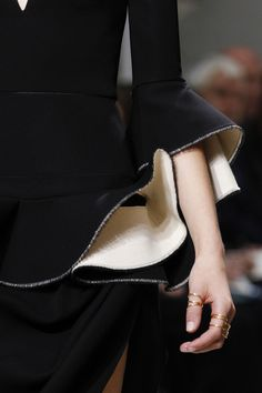 3/4 black bell sleeves- Balenciaga S/S 2013