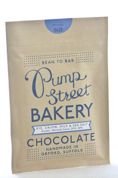 Pump Street Bakery Sourdough and Sea Salt Chocolate Bar Sea Salt Chocolate, Salted Chocolate, Candy Recipes, Gourmet Recipes, Handmade Chocolates, Bread And Pastries, Rye, Deli, Bakery