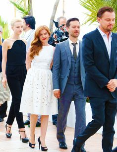 The Great Gatsby cast at Cannes 2013