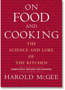 ON FOOD AND COOKING: The Science and Lore of the Kitchen by Harold McGee.  I worked on pr for an earlier edition.  Brilliant.  Kitchen science is fascinating and useful.
