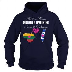 Mother Daughter - Lithuania - Israel - #design t shirts #zip up hoodies. ORDER…