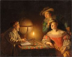 A Look into the Future,1836 -Petrus van Schendel
