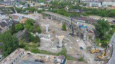 Ogromna inwestycja kolejowa w Podgórzu [ZDJĘCIA Z DRONA] - Zdjęcie 57178 - LoveKraków.pl