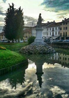 Castelfranco Veneto, piazza Giorgione