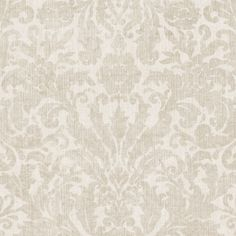 Twill Cream Damask Wallpaper from the Beyond Basics Collection by Brewster Home Fashions