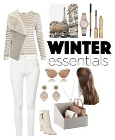 """""""Untitled #181"""" by lojain-khalid ❤ liked on Polyvore featuring ATM by Anthony Thomas Melillo, Mother, Mint Velvet, Miguel Ases, DesignB London, Linda Farrow, Links of London, OMEGA and Stila"""