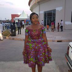 Hottest Photos of Emefa Akosua Adeti in African Prints - Wedding Digest Naija African Fashion Ankara, Latest African Fashion Dresses, African Print Dresses, African Print Fashion, African Dress, Women's Fashion Dresses, African Prints, Latest Ankara Dresses, Ankara Short Gown Styles
