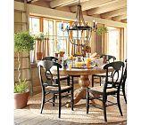 Sumner Pedestal Table & Napoleon® Chair Set | Pottery Barn