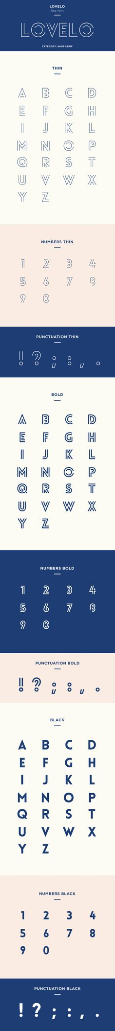 lovelo free font family download