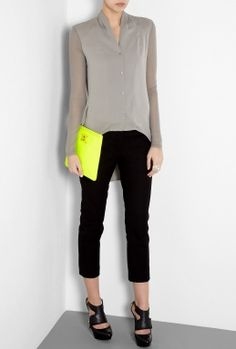 Neon yellow seems to be spring 2013 colour!