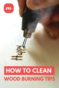 Not only will doing this properly this allow your wood burning tips to last longer, but it will result in an end product that is of higher quality, and isn't a great end result the ultimate goal with this craft? burning How To Clean Wood Burning Tips Wood Burning Tips, Wood Burning Techniques, Wood Burning Crafts, Wood Burning Patterns, Wood Burning Projects, Diy Wood Projects, Woodworking Projects, Art Projects, Woodworking Wood