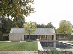 Michaelis Boyd Associates — Oxfordshire Pool House                                                                                                                                                                                 More
