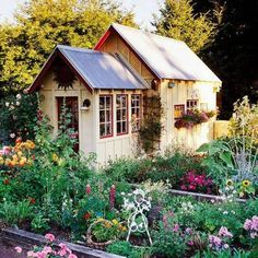Extraordinary How To Decorating Garden Shed