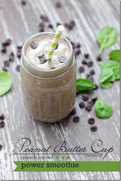 Peanut Butter Cup Power Smoothie   @mamamissblog #healthyeats #CocoaVia #peanutbutter