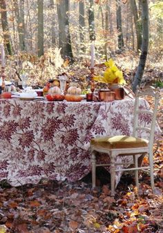 An Al Fresco Fall Celebration....See More at thefrenchinspiredroom.com
