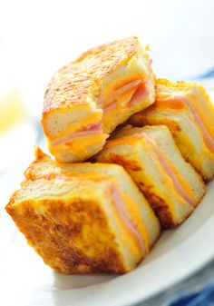 Little Brioche-Aged Cheddar Grilled Cheese Sandwiches Recipe