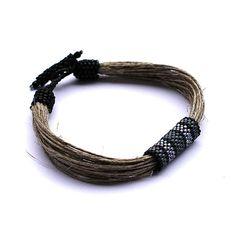 Beadwork art mens bracelet  men's beaded bracelet  by Naryajewelry, $22.00