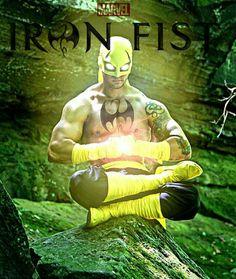 I am the IRON FIST Marvel Comics, Marvel Comic Universe, Marvel Comic Books, Comics Universe, Marvel Art, Marvel Heroes, Alter Ego, Iron Fist Powers, Iron Fist Marvel