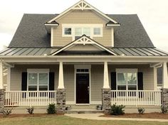 Exterior siding color: Fawn Brindle by Sherwin-Williams