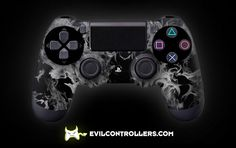 PS4Controller-WhiteFire | Flickr - custom ps4 controller - custom dual shock 4 controller