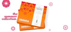 The Summer Collection - Five Super-Refreshing, Limited Edition Teas: Mango Fruit Punch, Tropicalia, Pink Passionfruit, Mint Julep And Coconut Grove | DavidsTea