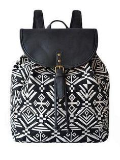 7554a84d0 canvas String Backpack - Shylee online shop #stringbagsforgirls Bolso  Mochila, Bolsas, Mochilas,