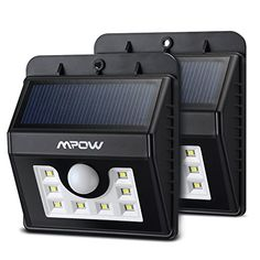 Mpow (8 LED)Solar Lights, Mpow 3-in-1 Wireless Weatherproof Security Light Motion Sensor Lamp with 3 Inte No description (Barcode EAN = 0632423535458). http://www.comparestoreprices.co.uk/december-2016-6/mpow-8-led-solar-lights-mpow-3-in-1-wireless-weatherproof-security-light-motion-sensor-lamp-with-3-inte.asp