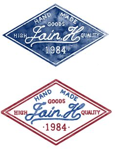 JOIN.H leather goods by jo in hyuk, via Behance Logo Design Love, Vintage Graphic Design, Badge Design, Pop Design, Vintage Designs, Typographie Inspiration, Logo Inspiration, Retro Logos, Vintage Logos