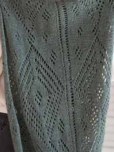 Gianna is a lacy stole knit with Berroco Skye! Knitting begins at one narrow end and then widens to form the lace panel, worked from charts, before decreasing down to another narrower end. Lace Knitting Stitches, Lace Knitting Patterns, Free Knitting, Stitch Patterns, Silk Touch, Knitted Shawls, Free Pattern, Knit Crochet, Tips