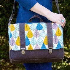 Midtown Messenger Bag | Craftsy