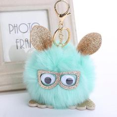 Lovely Owl Faux Rabbit Fur Ball Keychain For Women Fluffy Animal Pompom Pendant Key Rings Key Holder Bag Ornaments Gifts Teenager Fashion Trends, Owl Keychain, Rabbit Fur, Bunny Rabbit, Fluffy Rabbit, Friendship Gifts, Fluffy Animals, Cute Owl, Animal Jewelry
