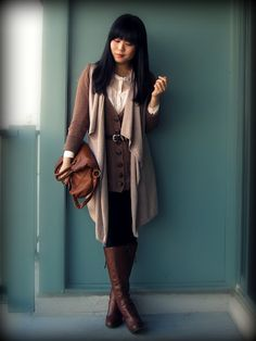 Kristania in CB belt and cardigan! #streetstyle #wearCB #CBstyle #fashion #style