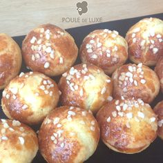 Brioches now available at Poule de Luxe.